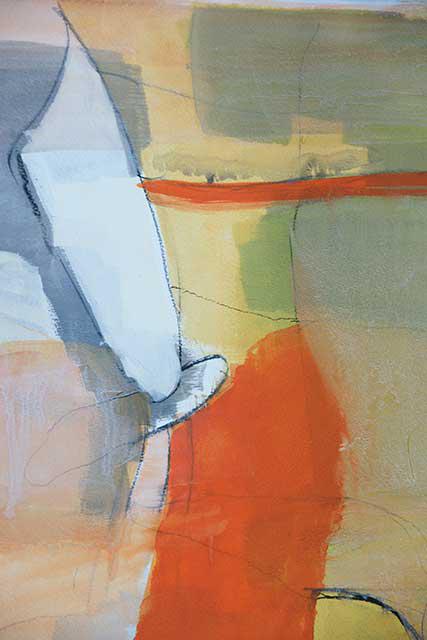 Waerme, 28 x 38 cm, Acryl auf Papier