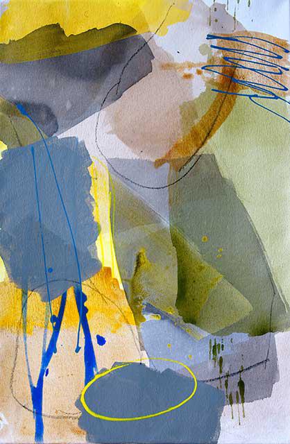 Diskussion, 40 x 60 cm Acryl, auf Leinwand