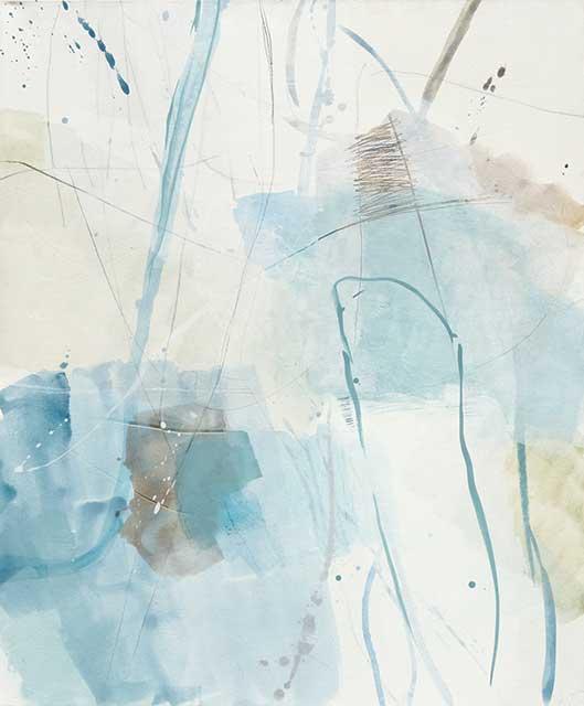 o.T., 100 x 120 cm, Acryl auf Leinwand