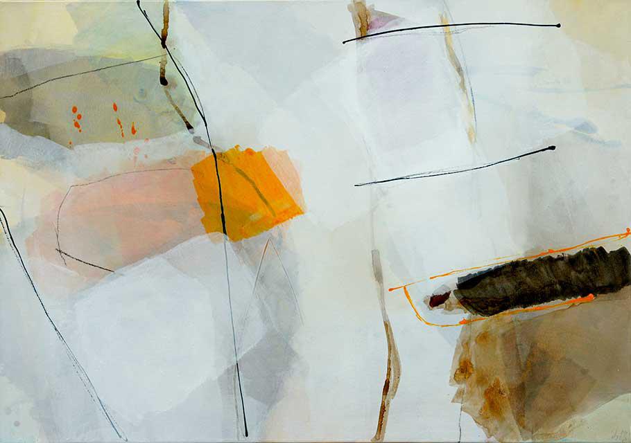 o.T., 100 x 70 cm ,Acryl auf Leinwand