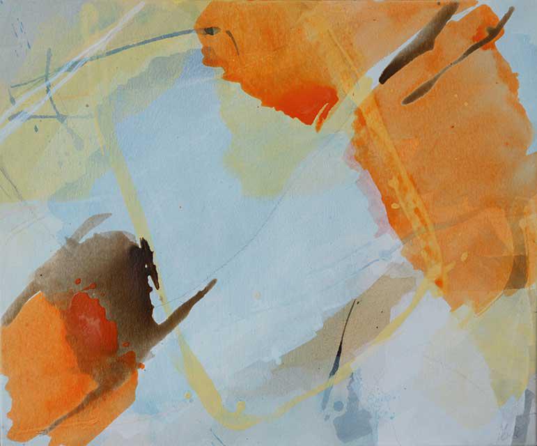 o.T., 60 x 50 cm, Acryl auf Leinwand